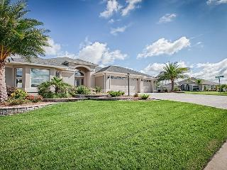 Incredible, expanded 3 bedroom designer home with 3 car garage and golf cart. - The Villages vacation rentals