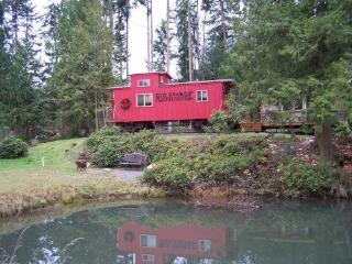 All Aboard Caboose Inn, Serene, Secluded - Sequim vacation rentals