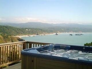 Relax in the spa and soak in the Oregon coastline - Port Orford vacation rentals