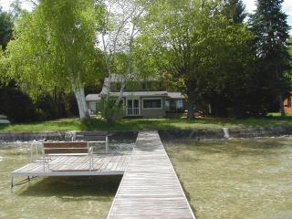 Private lake front on Platte Lake, Beulah, MI. - Beulah vacation rentals