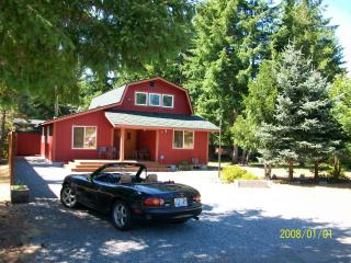 Little Lake Cabin-Mt.Rainier Vacation rental cabin - South Cascades Area vacation rentals