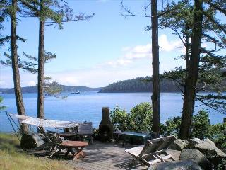 Orcas Island Water Front Home with Spectacular Views and Wildlife - Orcas vacation rentals