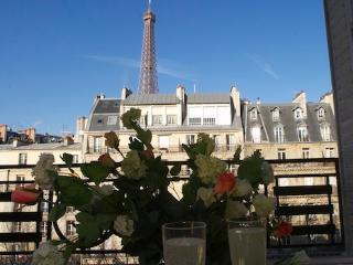 Safe & Central With Eiffel Tower Views - Free Wifi - Ile-de-France (Paris Region) vacation rentals