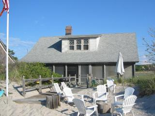 Beach House on the sand visit wineries kayaks swimming family reunion The Degan - Long Island vacation rentals