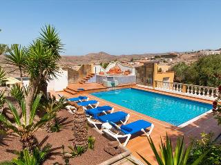 Luxury Villa for 12 at rural village called Salobre - San Bartolome de Tirajana vacation rentals