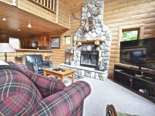 4BR Mountain Cabin - Skiers Paradise, Slope Side, Sleeps 13, Wood Burning Fireplace - Boyne Falls vacation rentals