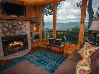 Coyote Bluff -Wall of Glass! Brand new pictures! - Ellijay vacation rentals