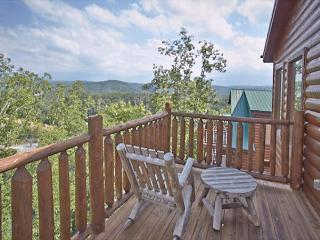 4 Bedroom Cabin with Amazing Views and Theater Room - Gatlinburg vacation rentals