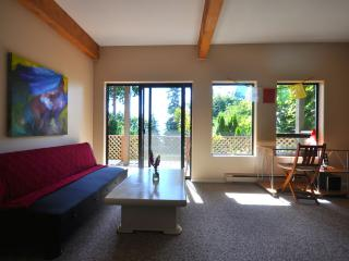 Lush view of leaf changing trees - Gibsons vacation rentals