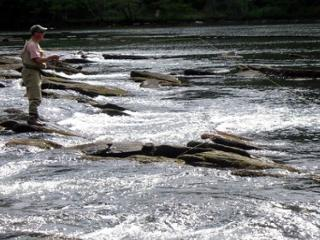 Enjoy Fishing at it's best from the banks of the Toccoa River - Mineral Bluff vacation rentals