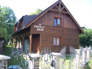 Spacious village chalet in Slovakia with mountain view - Slovakia vacation rentals