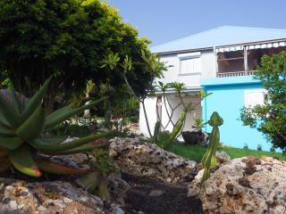 Spacious fully air-conditioned flat in residential, seaside location - Guadeloupe vacation rentals