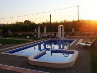A luxurious new villa just 85 m. from the beach - Chania vacation rentals