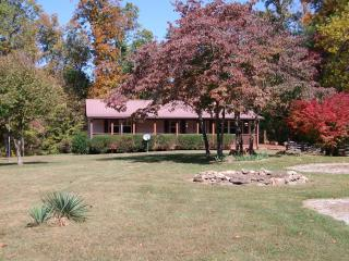 1500 sq ft home sitting on 9 beautiful, private acres and close to everything! - Crossville vacation rentals
