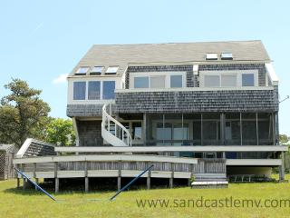 724 - CHAPPAQUIDDICK HOME WITH EXPANSIVE VIEWS OF KATAMA BAY AND A SALT WATER MARSH - Edgartown vacation rentals