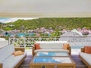 Group-friendly villa La Pointe overlooks the harbor with pool & daily maid - Gustavia vacation rentals