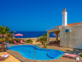 Villa Clio with breathtaking sea & sunset view - Chania vacation rentals