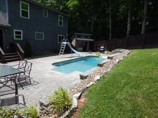 As Good as it gets private lakefront with swimming pool Norris Lake Cabin Rentals - Norris vacation rentals
