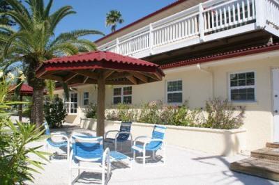 Private Sandy Patio - Cabana - 104B 29th St - Holmes Beach - rentals