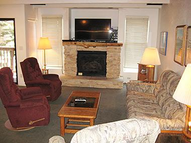 Living Room with Flat Screen TV - Val d'Isere - VDI30 - Mammoth Lakes - rentals