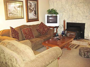 Living Room - Sherwin Villas - SV17B - Mammoth Lakes - rentals