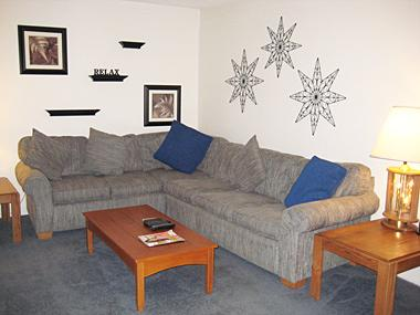Living Room - Mammoth Ski and Racquet - MR114 - Mammoth Lakes - rentals