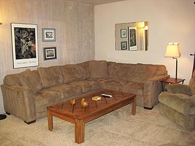 Living Room - Fireside at the Village - MF101 - Mammoth Lakes - rentals