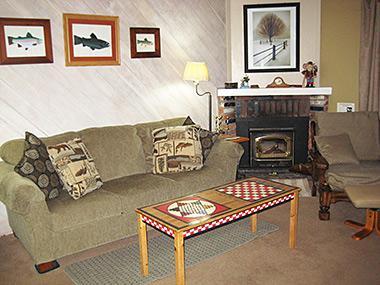 Living Room... - La Vista Blanc - LVB11 - Mammoth Lakes - rentals