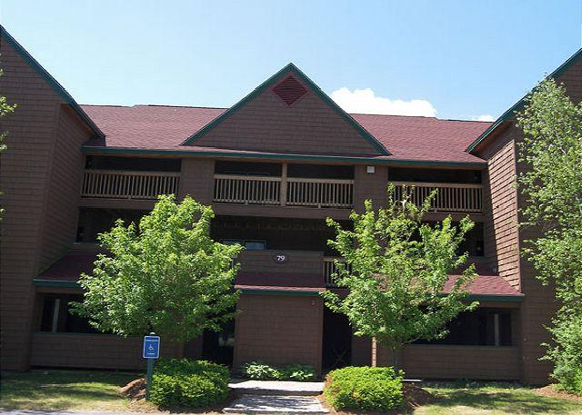 Outside - Front - Deer Park 200 - Managed by Loon Reservation Service - North Woodstock - rentals