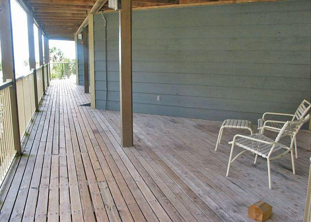 Front Deck Area - Sandpiper 11B ~ Inviting Beachside Condo - Gulf Shores - rentals