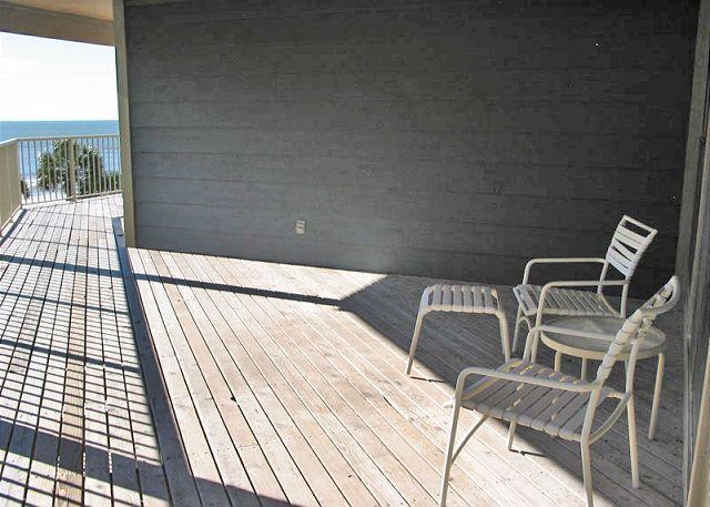 Front Deck Area - Sandpiper 12C - Gulf Shores - rentals
