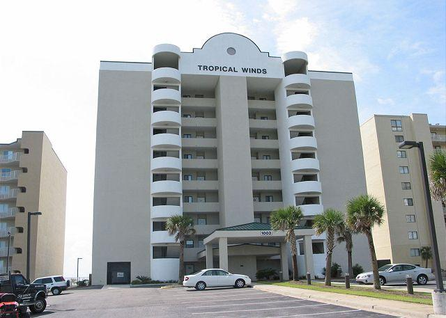 Tropical Winds - Tropical Winds 503 ~ Relaxing Beachfront Accommodations - Gulf Shores - rentals