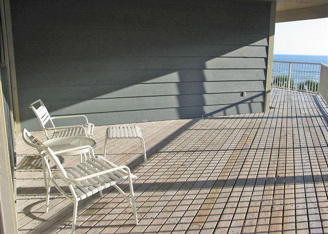 Balcony - Sandpiper 4C - Gulf Shores - rentals