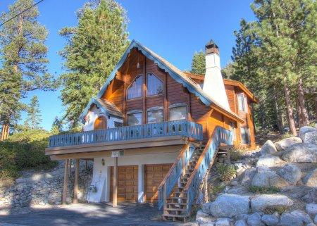 Beautiful lakeview sunsets at a Bavarian-style chalet - HCH0886 - Image 1 - South Lake Tahoe - rentals