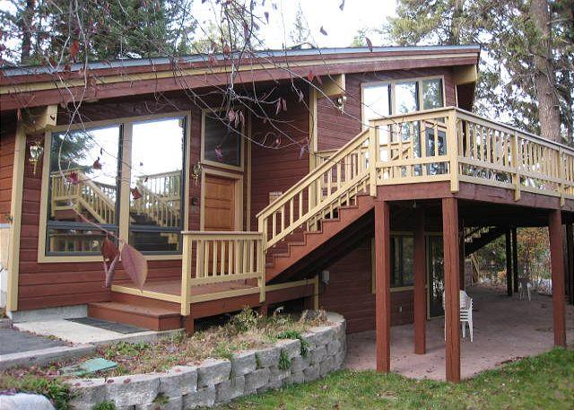 View of front - Birch Fairway- Spacious family retreat with private hot tub. - McCall - rentals