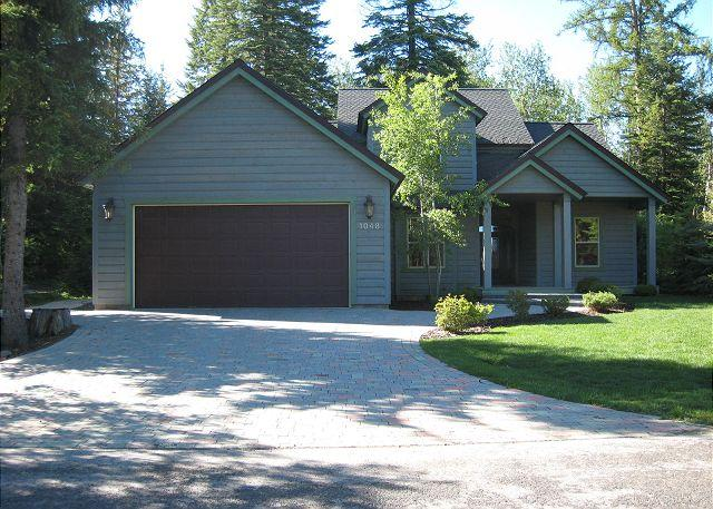 View to front of home - Hunters Lodge- Luxury Home located in Spring Mountain Ranch with amenities. - McCall - rentals