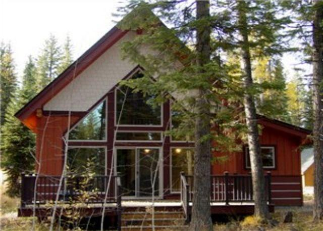 View - Northview Cabin- Mountain Style home in Spring Mtn. Ranch with amenities - McCall - rentals