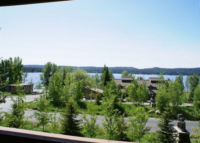 view - Lake view condo with mountain style decor. - McCall - rentals