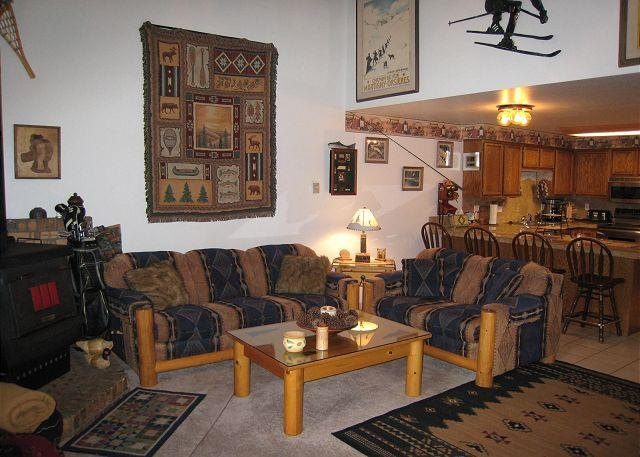 Mountain style condo, walk to Downtown and beach. - Image 1 - McCall - rentals