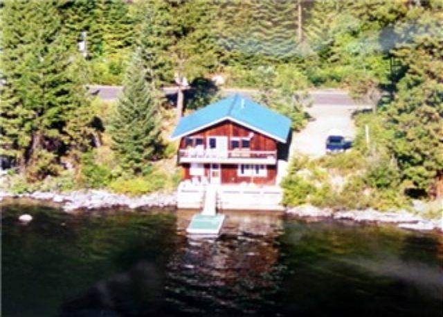 View - Huckleberry Rose- Lakeside with spectacular mountain views and private dock. - McCall - rentals