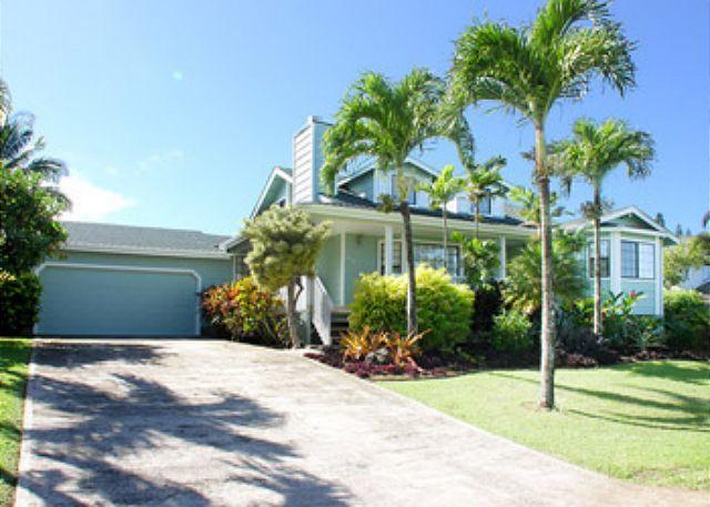 Front Entry - Hale Kohea: Comfortable, Tommy Bahama Furnished Home! - Princeville - rentals