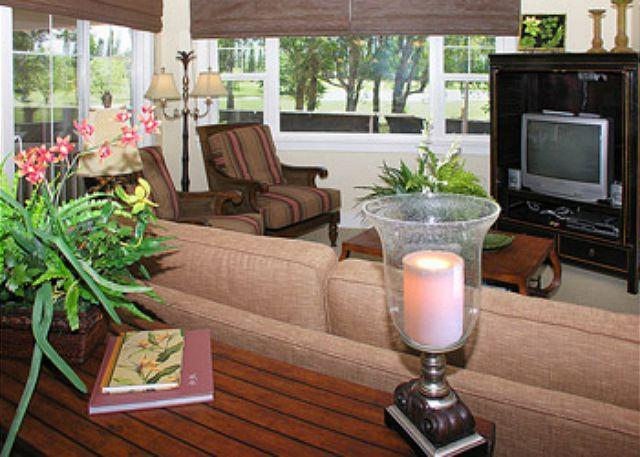 Plantations #521: Paradise Relaxation w/AC and mountain views! - Image 1 - Princeville - rentals