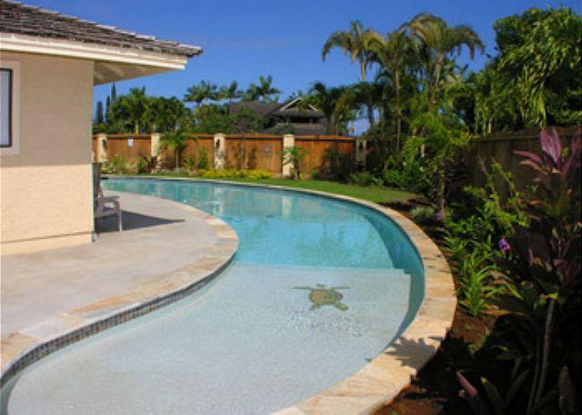 Pool - Hale Mahana: Cozy 2 Bedroom home with salt water Pool! - Princeville - rentals