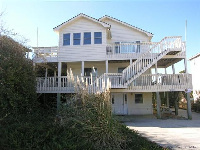 Front of house - Peaceable Kingdom - Corolla - rentals