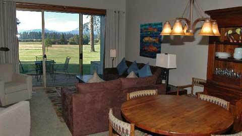 Lodge Condo 021 - Image 1 - Black Butte Ranch - rentals