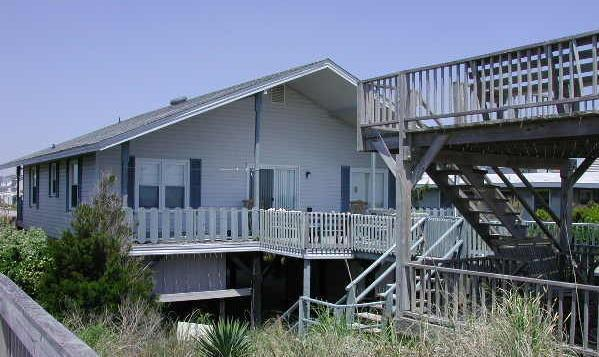 238 East First Street oceanside - East First Street 238 - A Deck - Ocean Isle Beach - rentals