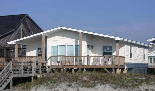 exterior - East First Street 302 - Third Sun - Hunt - Ocean Isle Beach - rentals