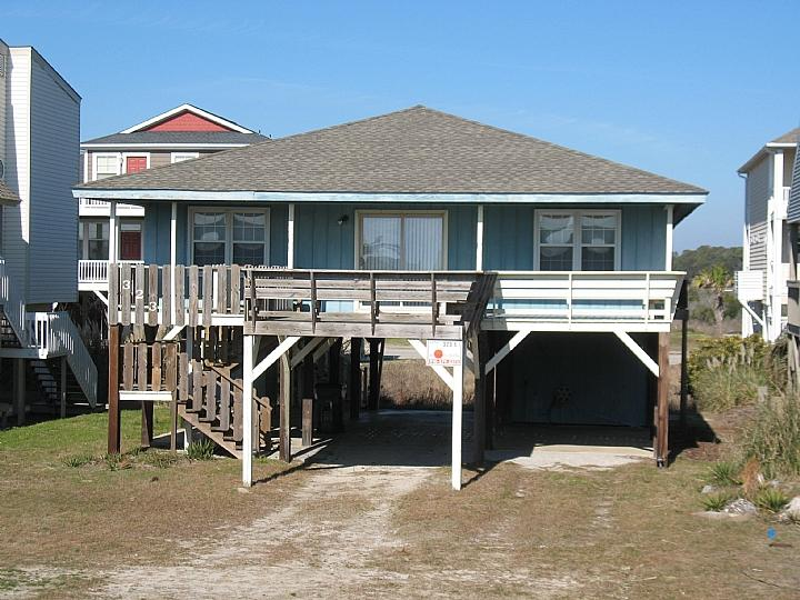 323 E1 exterior - East First Street 323 - Pulley-Riley-Hackney - Ocean Isle Beach - rentals