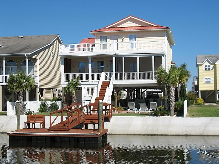 23 Leland Street canal side - Leland Street 023 - B Bright Place II - Ocean Isle Beach - rentals