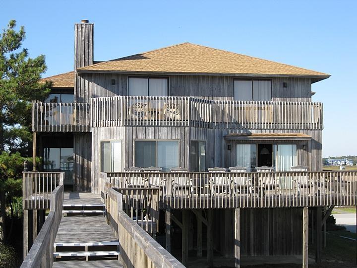 exterior oceanside - Ocean Isle West Blvd. 105 - Tender Trap - Cordes - Ocean Isle Beach - rentals
